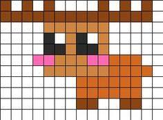 Kandi Patterns for Kandi Cuffs - Animals Pony Bead Patterns Perler Bead Designs, Easy Perler Bead Patterns, Hama Beads Design, Kandi Patterns, Pearler Bead Patterns, Beading Patterns, Cross Stitching, Cross Stitch Embroidery, Cross Stitch Patterns