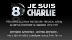 #JeSuisCharlie  #CharlieHebdo  #respect bravo et merci @D8TV @AprikianAra  @Cyrilhanouna  #NousSommesCharlie
