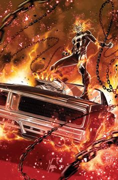 GHOST RIDER #1 NOW!
