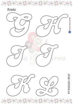 G - L Graffiti Alphabet, Alphabet Art, Alphabet Fonts, Alphabet Soup, Frozen Birthday Games, Felt Templates, Letter Stencils, Name Banners, Felt Patterns