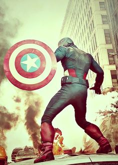 The Avngers: Steve Rogers aka Captain America Oh Captain My Captain, Captain Rogers, Steve Rogers, Marvel Dc, Marvel Comics, Disney Marvel, Chris Evans Captain America, Capt America, God Bless America