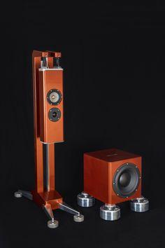 Aluminous Audio Gravitas Speaker System   Hifi Pig