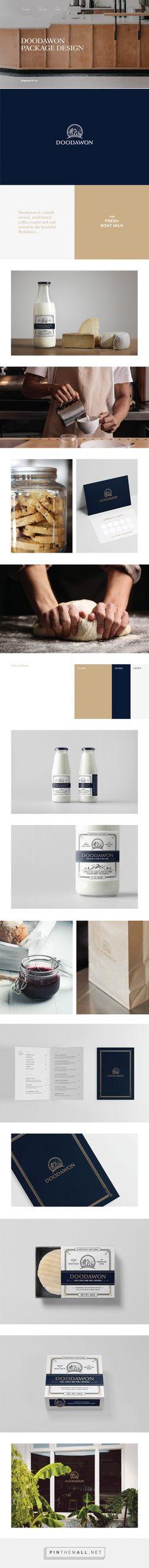 Doodawon Goat Milk packaging design by Kingsmen BX Lab - http://www.packagingoftheworld.com/2017/12/doodawon-goat-milk.html