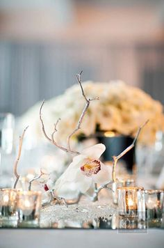 Silver and White Breakfast Wedding, Winter Wonderland, Empire State Building    Colin Cowie Weddings
