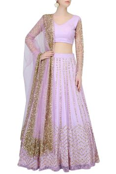 Purple lehenga from Astha Narang Collection