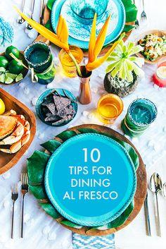10 Tips for Dining Al Fresco