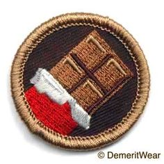 Chocoholic Merit Badge