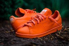 Burn Rubber — Raf Simons x Adidas Stan Smith (Orange)
