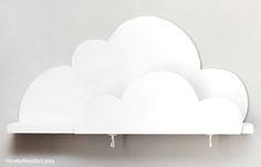 diy cloud bookshelf tutorial