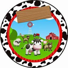 OLÁ AMIGAS! Apresentamos hoje para vc mais um lindo kit enviado pela nossa querida amiga Paula Fonseca. Convite Tag quadrada ... Farm Birthday, Boy First Birthday, Boy Birthday Parties, Barn Parties, Western Parties, Barnyard Party, Farm Party, Sheriff Callie Birthday, Farm Theme