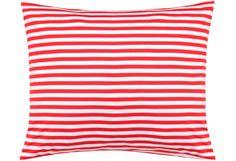 "Marimekko ""Tasaraita"" Pillowcase"