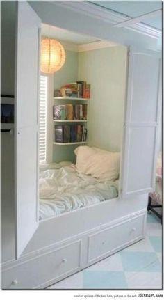 Secret room or bedroom idea