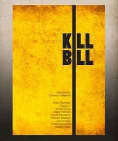 Kill Bill  A3 Poster Vintage Print by Posterinspired on Etsy, $18.00