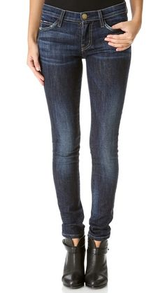 Current/Elliott The Ankle Skinny Jeans - Need these! #currentelliott