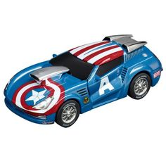 """Carrera Marvel - The Avengers """"Captain America Stormer"""" coupon  Games Information"""