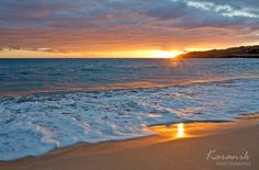 Warm Reflections, Maui Sunset | Hawaii Pictures of the Day