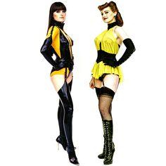 Laurie and Sally Jupiter, aka Silk Spectre - Watchmen