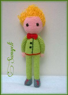 The Little Prince Crochet Patterns Amigurumi, Amigurumi Doll, Crochet Dolls, Crochet Yarn, Free Crochet, The Little Prince, Cute Crafts, Crochet Animals, Doll Accessories