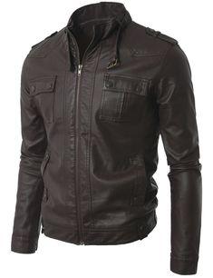 96504acdde leather jacket mens S motorcycle biker New lambskin coat Slim Men Jacket 505