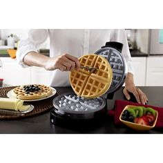 Oster DuraCeramic Belgian Waffle Maker - CKSTWF1502-Teco, Silver