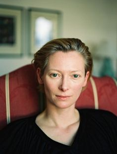 Tilda Swinton - Errily beautiful, talented, scottish, almost never wears makeup... Whats not to like?