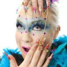 Too carnival queen nails photo contest for Yournails magazine
