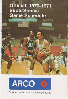 1970-71 Seattle SuperSonics schedule