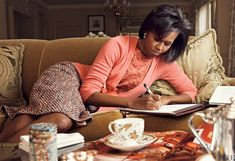 First Lady Michelle Obama Photographed by Annie Leibovitz, Vogue, March 2009