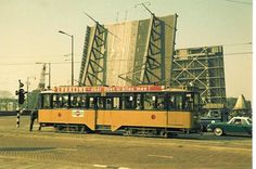 Rotterdam, Dutch Netherlands, Rail Europe, Black And White Pictures, Black White, Light Rail, Back In Time, Public Transport, Old Pictures