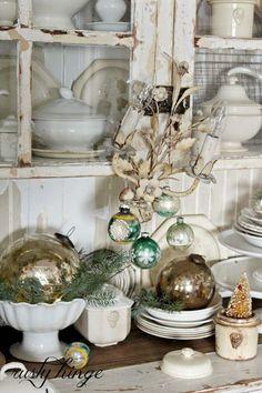Новогодний декор в винтажном стиле.: piazza_italiana