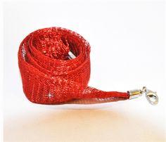 Kırmızı Titanyum Zincir                                (zcr-007)
