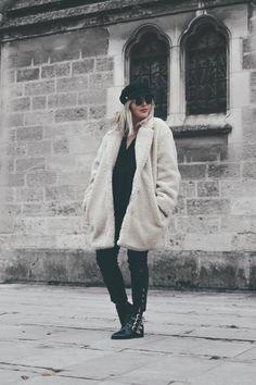 Manteau doudou/peluche/mouton Tendance bear coat http://theoverview.fr/tendance-bear-coat/