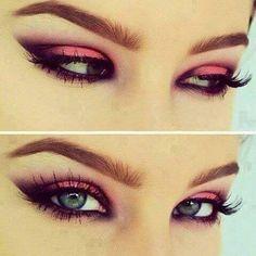 Smokey Pink Cat Eye