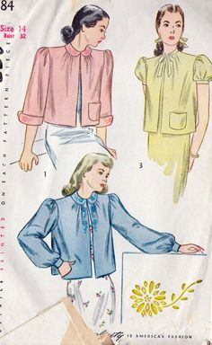 I made one of these for my Grandma - back in the 70's. . .   but this is a 1940's pattern.