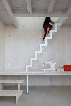 """House in Kashiwa by Yamazaki Kentaro Design Workshop """"Location: Masuo, Kashiwa, Chiba, Japan"""" 2014"""
