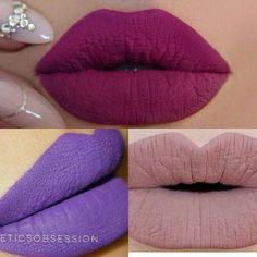 SALE✔3  matte liquid lipsticks #25 #09 #18 3 lipstick #18 #25 #09  professional long lasting lipstick  please see pictures for details on color  1 for $7, 2 for $10, 3 for $12. Keep adding $2 for every lipstick you add.Ask me to make you a listing with the colors you like. :)  First picture is very close to the color but you can see me wearing the lipstick so that's the actual color.   Waterproof matte lipstick to remove use Vaseline or makeup removal. Makeup Lipstick