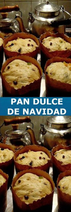 🔥Panettone casero My Recipes, Mexican Food Recipes, Sweet Recipes, Pozole, Tapas, Pan Bread, Cupcakes, Sweet And Salty, Christmas Desserts