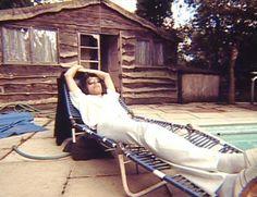 Freddie lazing on a Sunday afternoon!