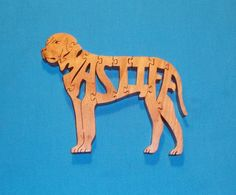 Hey, I found this really awesome Etsy listing at https://www.etsy.com/listing/85486722/mastiff-dog-scroll-saw-wooden-puzzle
