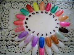 Cartella colori CC NAILS - Cartelle Colori