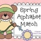 Simple spring freebie for your kindergarten or preschool literacy work stations. Just print , laminate and cut out. Store in a baggie for use year aft Kindergarten Freebies, Kindergarten Rocks, Classroom Freebies, Kindergarten Literacy, Classroom Fun, Future Classroom, Alphabet Activities, Literacy Activities, Teaching Resources