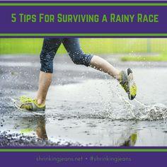 It's the rainy season! Check out these 'running in the rain' tips! #running #race #rain #shrinkingjeans