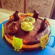 La Gourmandise me va si bien ! easter cheesecake