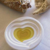Olive Oil Dipping Dish #love #heart #oliveoil #oil