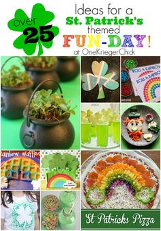 I have always loved St. With two birthdays and leprechauns around this one how could I not. Create Your Own St. Patrick's Day themed {Fun-Day} St Patrick's Day Crafts, Holiday Crafts, Holiday Fun, Crafts For Kids, Easter Crafts, Easter Activities, Spring Activities, Halloween Activities, Senior Activities