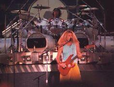 Alex Van Halen ❤️  Sammy Hagar 1988