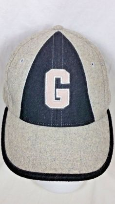 Negro League Baseball Classics Museum Wool Cap Hat Gray Embroidered Size 7 1 8   e1642de12