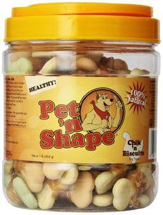 Pet 'n Shape Chik 'n Biscuits Natural Dog Treats, 1-Pound Tub Pet 'n Shape http://www.amazon.com/dp/B000ES17GY/ref=cm_sw_r_pi_dp_Y4L3wb0VXJRQW  10 each