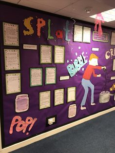 George's marvellous medicine Classroom Wall Displays, Classroom Walls, Classroom Posters, Classroom Setup, Future Classroom, Georges Marvellous Medicine, James And Giant Peach, Science Topics, Reading Workshop