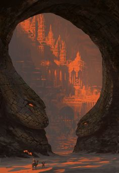 Serpent\'s Keyhole by Matthew Sellers | Fantasy | 2D | CGSociety